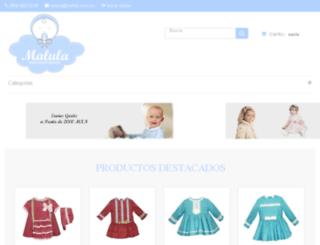 malula.com.mx screenshot