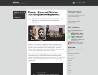 malumat.wordpress.com screenshot