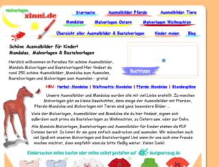 malvorlagen.xinni.de screenshot