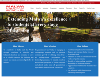malwacollege.com screenshot