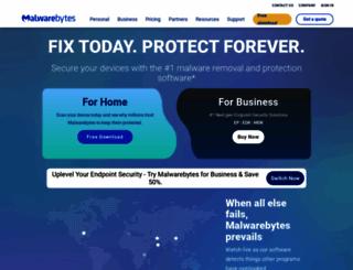 malwarebytes.com screenshot