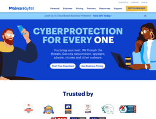 malwarebytes.org screenshot
