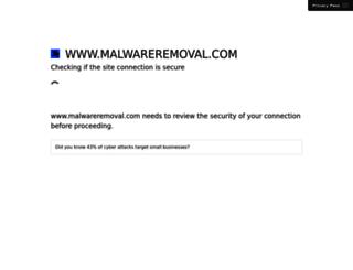 malwareremoval.com screenshot