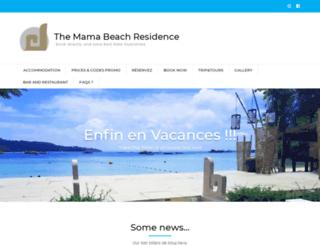 mama-beach.com screenshot