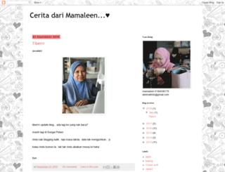 mamaaleen.blogspot.com screenshot