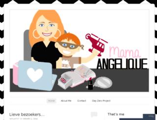 mamaangelique.wordpress.com screenshot