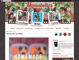 mamabelly.com screenshot