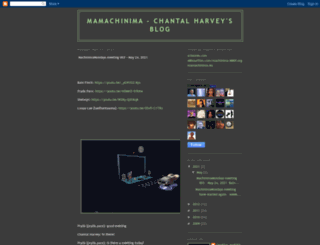 mamachinima.blogspot.com screenshot