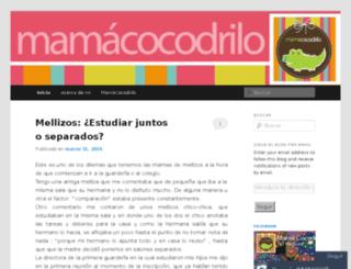mamacocodrilo.com screenshot
