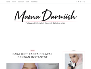 mamadarwiish.blogspot.my screenshot