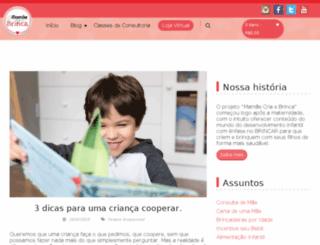 mamaecriaebrinca.com.br screenshot