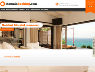 mamaiabooking.com screenshot
