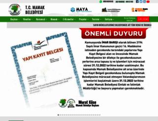 mamak.bel.tr screenshot