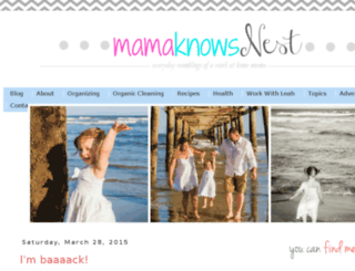 mamaknowsnest.com screenshot