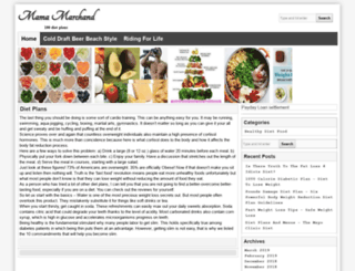 mamamarchand.com screenshot