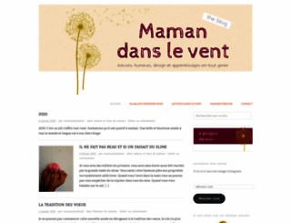 mamandanslevent.wordpress.com screenshot