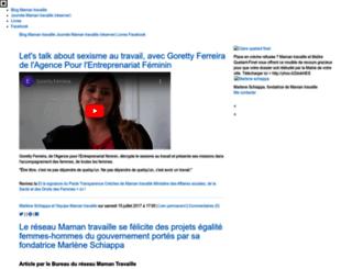 mamantravaille.fr screenshot