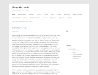 mamaonthego.com screenshot