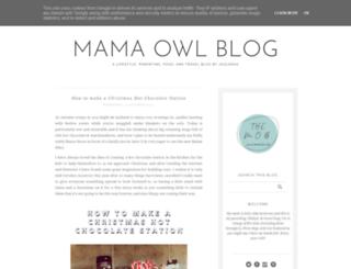 mamaowl.co.uk screenshot