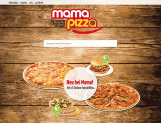 mamapizza.de screenshot