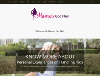 mamasgotflair.com screenshot