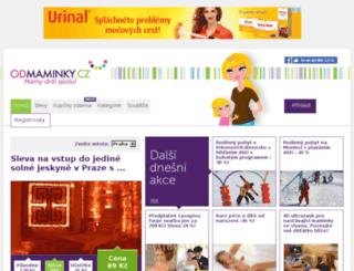 mamaslevy.cz screenshot