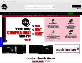 mamasmusicstore.it screenshot