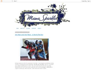 mamasparkles.blogspot.com screenshot