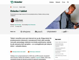 mamatatatablet.pl screenshot