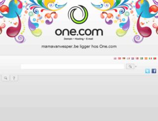 mamavanvesper.be screenshot
