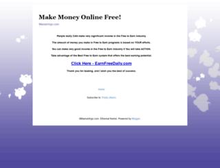 mamavirgo.com screenshot