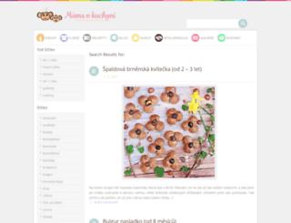 mamavkuchyni.blogspot.cz screenshot