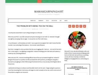 mamawearpapashirt.com screenshot