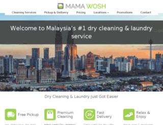 mamawosh.com screenshot