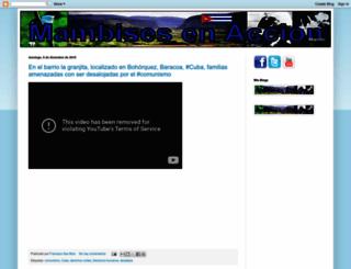 mambisesenaccion.blogspot.com screenshot