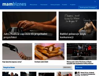 mambiznes.pl screenshot