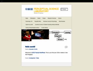 mambo.ucsc.edu screenshot
