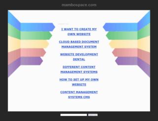 mambospace.com screenshot