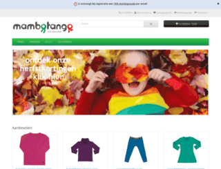 mambotango.be screenshot