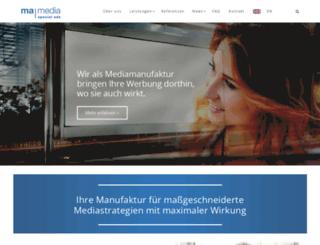mamedia.de screenshot