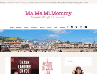 mamemimommy.com screenshot