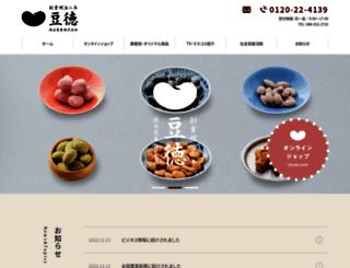 mametoku.co.jp screenshot