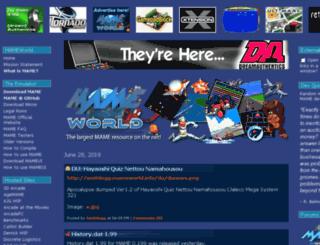 mameworld.info screenshot