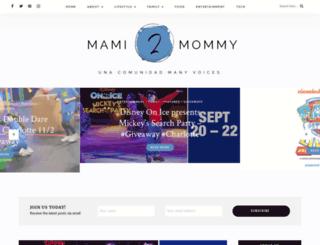 mami2mommy.com screenshot