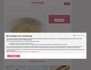 mamiweb.de screenshot