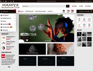 mamiyadiamonds.com screenshot