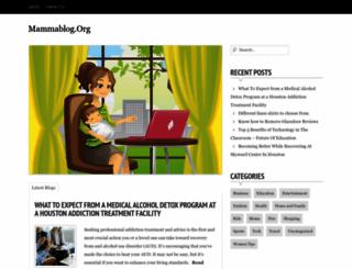 mammablog.org screenshot