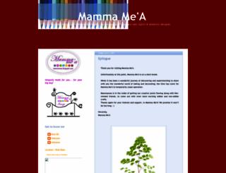 mammamea.blogspot.com screenshot
