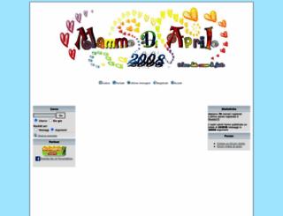 mammediaprile2008.forumattivo.com screenshot