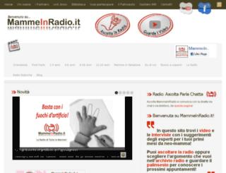mammeinradio.it screenshot
